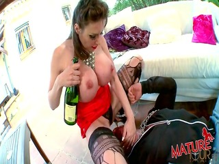 a large mambos maid very concupiscent