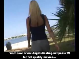 blonde d like to fuck sweet talking with lesbo