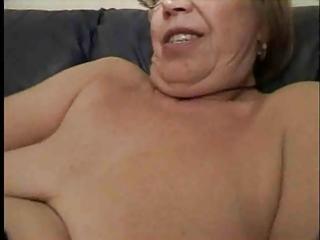 granny receives tasty treat