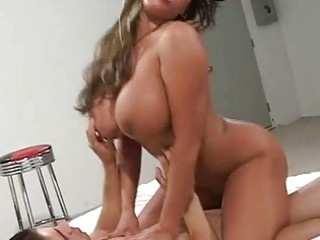 large tit milf double teamed