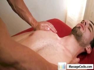 Steel Cock Oil Massage