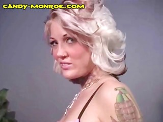 breasty golden-haired candy is cuckolding her boy