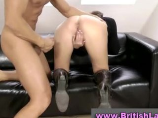 mature british lady in boots screwed and jizzed