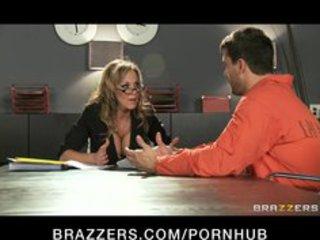 sexy big-boob dark brown d like to fuck lawyer