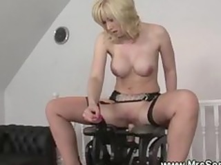 lascivious aged rides on sex chair