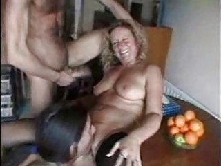 Mature whores love some good group sex fun