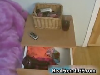 taut bodied french gf dildoing her part9