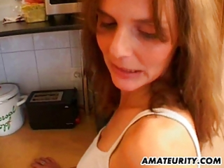 hawt amateur mother i receives screwed in her