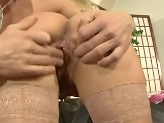 sexy german mamma fucking on the daybed
