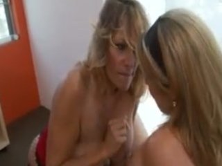 young girl tempted by older lesbo