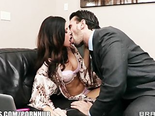 lonley brunette hair wife begs her spouse to
