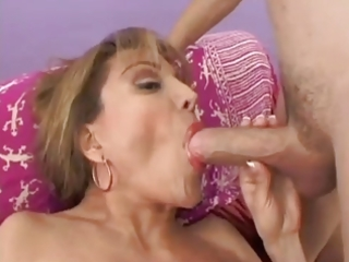 busty older latina loves to acquire drilled
