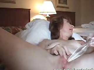 Pussy and Anal Pleasure Mom Sandra