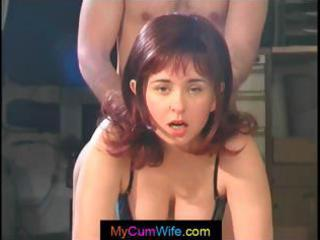 breasty wife acquires fucked from behind and then