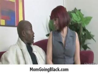 MILF gets an interracial penetration 1