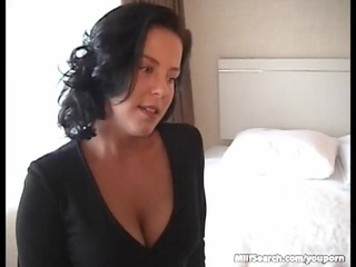 Brunette Milf Pussy Licked And Fucked