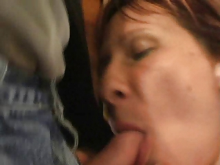 mama cleaning the windows 0. cumshot