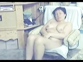 my mum home alone absolutely naked masturbating