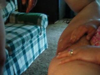 cumshot on wifes wet crack