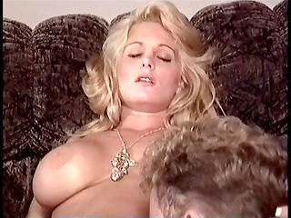 cute breasty blonde receives licked, acquires