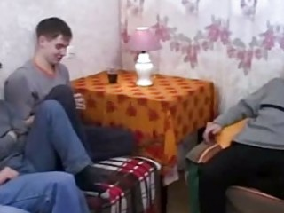 real russian mommy bonks her sons friends