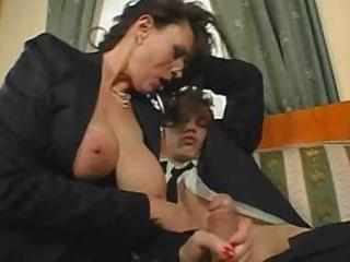 Mature busty secretary sex