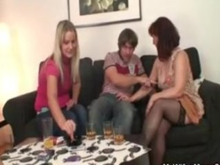 mom drilled by her daughter hubby