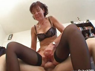 french mature sodomized in nylons