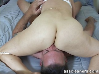 sexually excited goddess demands for butt licking