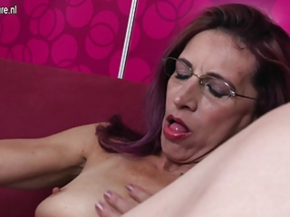 old slender mother can anal and fur pie play