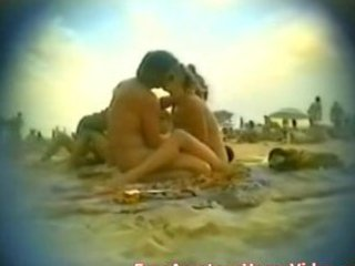 nudist beach wife blowing in public