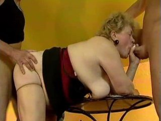 plump old grandma gets screwed by favourable part0
