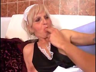 juvenile fella fucks an old granny