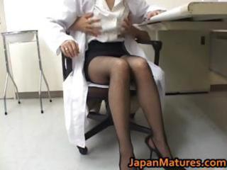 amazing nurse is a sexy older girl part8