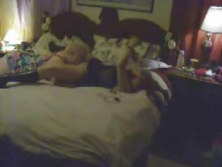 hidden cam caught my old mom having lesbian sex