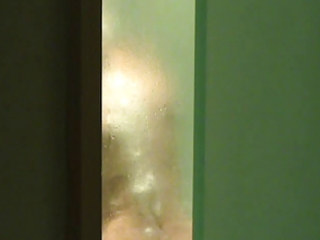voyeured wife in the shower