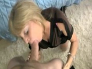 excited blond older t live without engulfing on