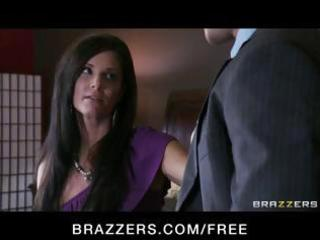 sexy brunette hair milf craves a divorce but her