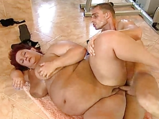 big beautiful woman german granny is hungry for