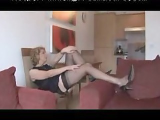 granny fully fashioned stockings and underware