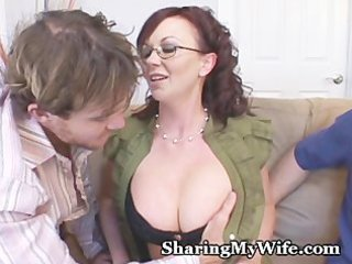 wife copulates recent guy for piggy hubby