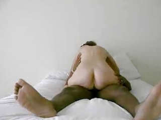 wife rides her hubby &; cums(cuck)