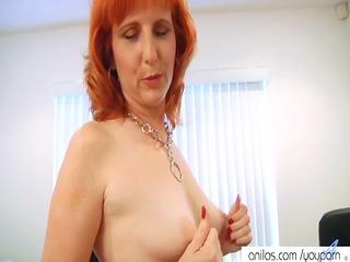 redhead d like to fuck bonks hirsute pussy