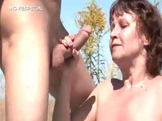 slutty milf gets her shaggy muf fucked
