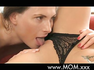 mom sexy lesbo milfs make love