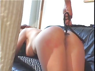 big pointer sisters redhead spanked by a smokin