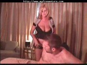 sexy golden-haired mature cougar squirts older
