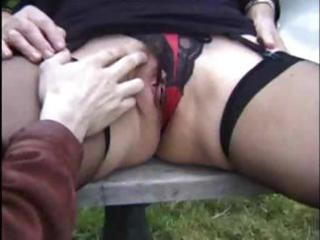 outdoor granny three-some