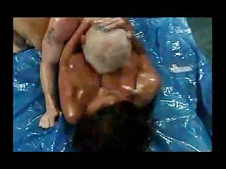 breasty booty wrestling aged donita dunes