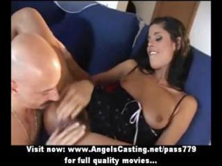 sexy brunette amateur mommy getting slit fucked